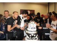 Gaziantep Havalimanı'nda pastalı kutlama