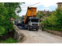 Büyükşehir, Girmana'da asfaltlama çalışması yaptı