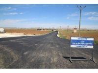 Büyükşehir'den kırsal mahalle yollarına sıcak asfalt