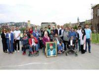 Payitaht Abdülhamid setine anlamlı ziyaret