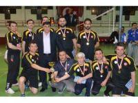 Voleybol turnuvasının şampiyonu Diriliş Team