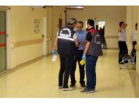 Hastanede tedavi gören hastaya silahlı saldırı