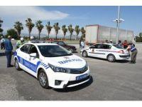 """Antalya'da """"Türkiye Güvenli Trafik Denetimi"""" Uygulaması"""