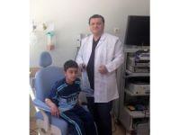10 yaşındaki çocuk, 2 yıl sonra yeniden duymaya başladı