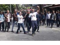 Başkent'te Gülmen ve Özakça eylemine polis müdahalesi: 3 gözaltı