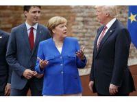 Merkel, G7'den umduğunu bulamadı