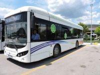 Büyükşehir Elektrikli Otobüsleri Test Ediyor