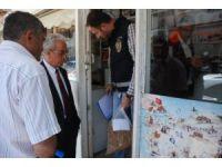 Tokat'ta kıyılmış tütün denetimine esnaf tepkisi