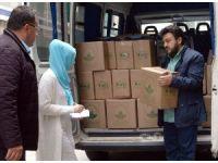 Osmangazi'de erzaklar sahiplerine ulaştırılıyor