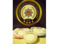 Satışa hazır bir buçuk kilo metamfetamini Bursa'ya sokamadan yakalandılar