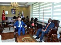 Güney Afrika Cumhuriyeti Ankara Büyükelçisi Malefane Mersin'de