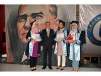 Nazilli MYO'da mezuniyet sevinci