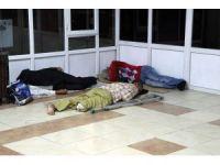 Otogar, evsizlerin yaşam durağı