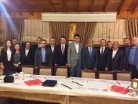 Akyazı'da hakim, savcı ve müdürler için veda iftarı