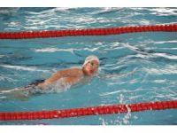 Yüzmede teşvik yarışları yapıldı