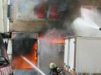 İstanbul Güneşli'de yangın