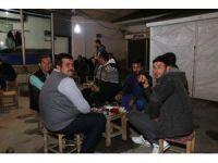 Kaymakam Çetin vatandaşlarla bir araya geldi