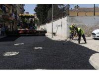 Akdeniz'de asfalt çalışmaları aralıksız sürüyor