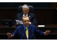 Cumhurbaşkanı Erdoğan 1044 gün sonra partisinin grup toplantısında