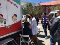 Çıldır'da mobil araç ile sağlık taraması yapıldı