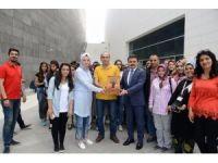 Iğdırlı öğrencilerden Alan Başkanı Kaşdemir'e ziyaret