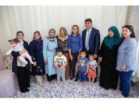 Başkan Fadıloğlu, iftar öncesi ailelerle buluştu