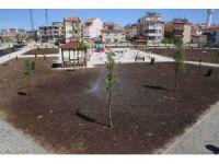 Karaman'da belediyenin yaptığı yeni park alanları hizmete girdi