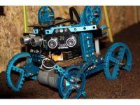 Tarla süren robot Türkiye üçüncüsü oldu