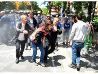 Gülmen ve Özakça'ya destek eylemine biber gazlı müdahale