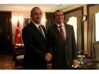 Bakan Çavuşoğlu BM Genel Sekreteri Kıbrıs Özel Danışmanı Eide'yi kabul etti