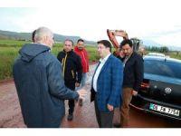 Başkan Yazgı, 250 kişilik ekiple sahaya indi