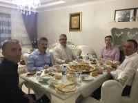 Vali Pekmez ve Başkan Karatay şehit yakınları ve gazilerle iftar yaptı