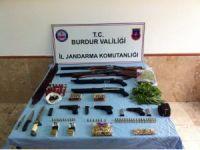 Burdur'da Hint keneviri operasyonu