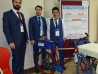 KTÜ'lü öğrenciler elektrikli bisiklet üzerinde geliştirdikleri projeyle yeni bir çığır açtı