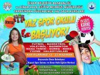Dinar'da, ücretsiz yaz spor okulu başlıyor