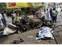 Pakistanda bombalı saldırı: 10 ölü, 18 yaralı