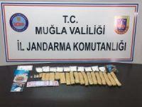 Muğla Jandarması bir yılda 102 kilo uyuşturucu yakaladı
