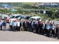 Karabük emniyetinde 8 araç dualarla hizmete alındı