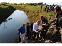 Bakan Kılıç sel bölgesinde incelemelerde bulundu