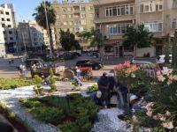 Kilis Park Bahçeler Müdürlüğü çalışmalarına devam ediyor