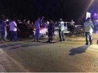 Dörtyol'da trafik kazası: 4 yaralı