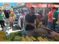 Iğdır'da bayram öncesi pazar kuruldu