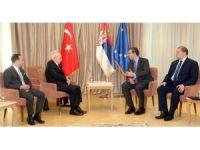 """Sırbistan Cumhurbaşkanı Vuçiç: """"Türkiye ile ilişkiler güçleniyor"""""""