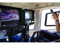 Başkent'te bayram trafiğine helikopterli destek