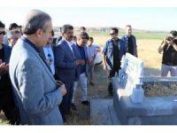 Mehdi Eker'in mezarlık ziyaretine yoğun güvenlik önlemi
