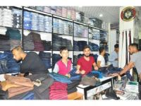 Bayrama Saatler Kala Vatandaşları Alışveriş Telaşı Sardı