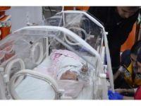 Poşet içinde çöpe atılan bebek hayata tutunamadı
