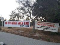 KKTC'de Bay-Sen'den grev kararı