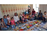 Midyat'ta 21 çocuklu ailenin bayram coşkusu