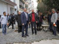 Karşıyaka sokaklarına estetik dokunuş